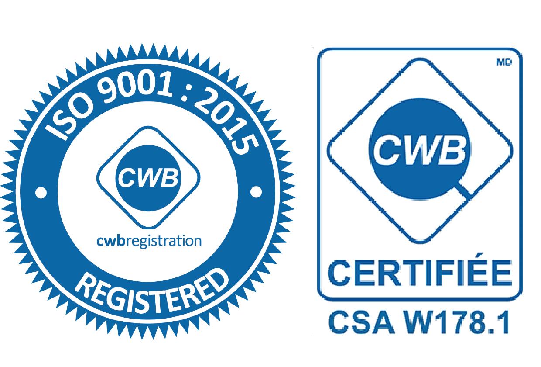 ISO 9001:2015 et CSA W